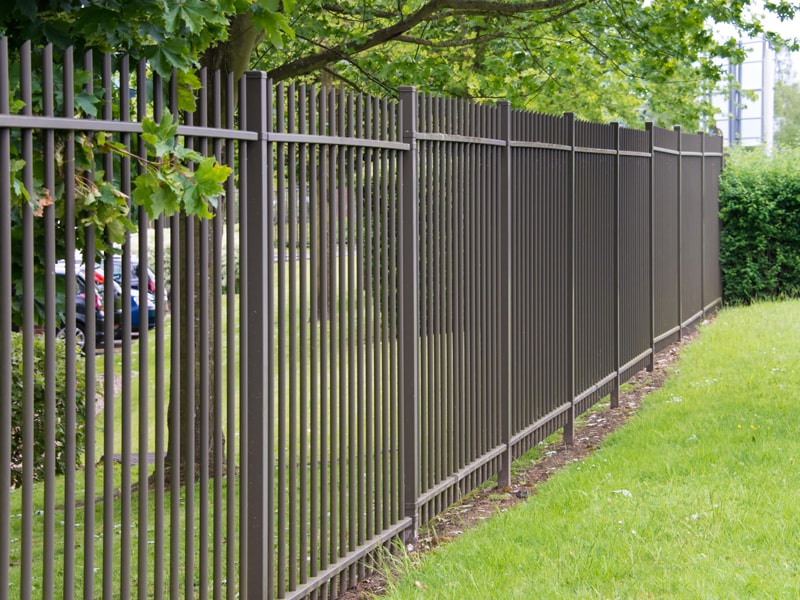 Black Aluminum Fencing Available At Fence Company Wilmington NC
