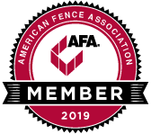American Fence Association Contractor Since 2019