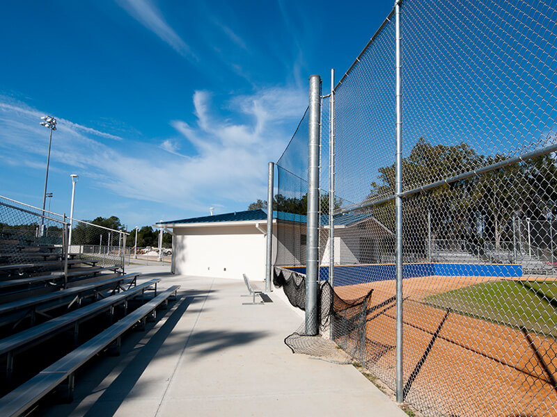 Baseball Field Athletic Fence